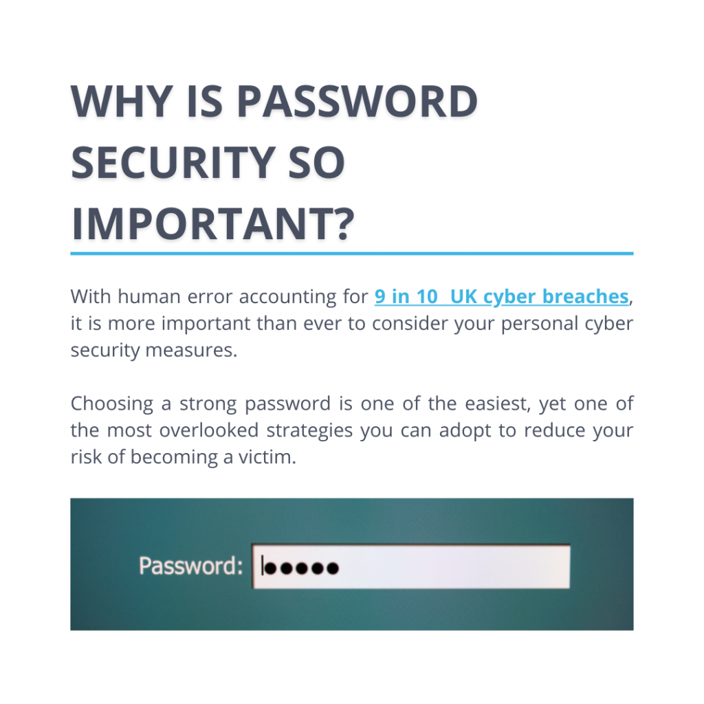 Why is password security so important?