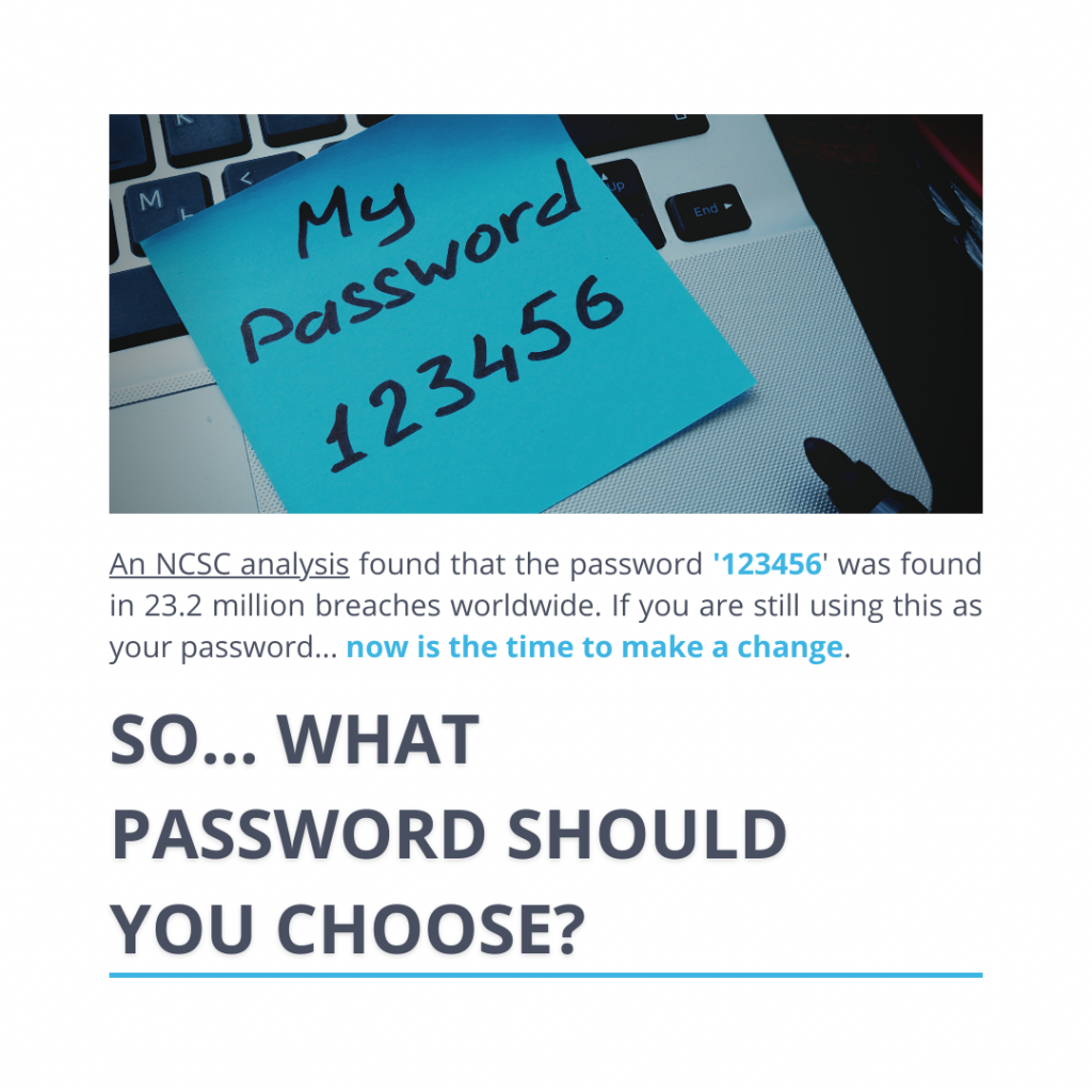 What password should you choose?