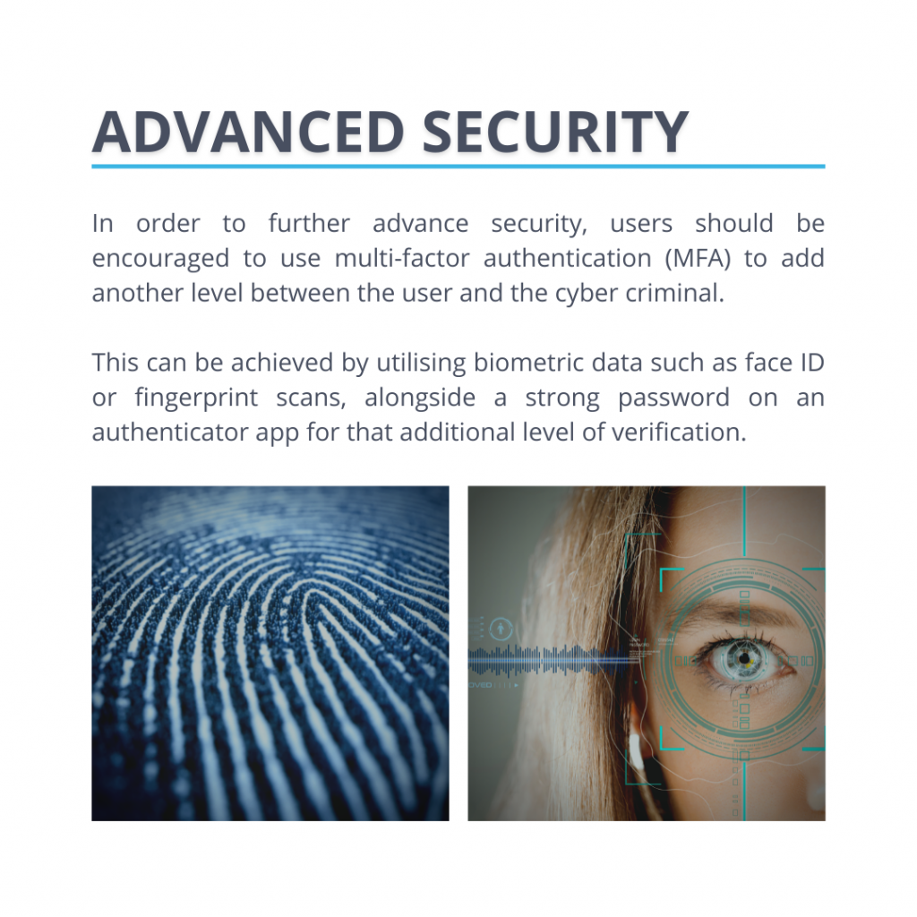 Biometric data verification will advance your security